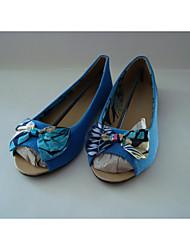 povoljno -Žene Cipele PU Proljeće Jesen Udobne cipele Ravne cipele Ravna potpetica za Kauzalni Crn Plava Pink