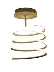 cheap -Ecolight™ Flush Mount Ambient Light - Geometric Pattern, Artistic Modern / Contemporary, 110-120V 220-240V, Warm White White, Bulb