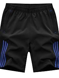 cheap -Men's Basic Sweatpants Pants - Solid Colored, Patchwork