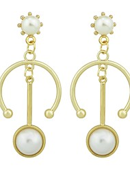 cheap -Women's Drop Earrings - Fashion White / Black For Gift / Date