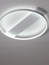 Недорогие -Монтаж заподлицо Рассеянное освещение Окрашенные отделки Металл LED 110-120Вольт / 220-240Вольт Теплый белый / Холодный белый Светодиодный источник света в комплекте / Интегрированный светодиод