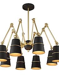 Недорогие -JLYLITE 8-Light Спутник Люстры и лампы Рассеянное освещение - Мини, 110-120Вольт / 220-240Вольт Лампочки не включены / 50-60㎡ / E12 / E14