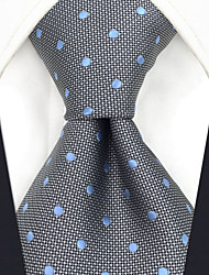cheap -Men's Party Work Rayon Necktie - Polka Dot Jacquard