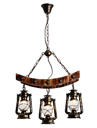 cheap -Chandelier Downlight - Mini Style, Rustic / Lodge Artistic, 110-120V 220-240V Bulb Not Included