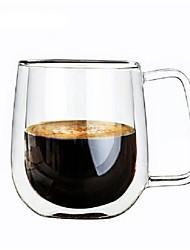 Недорогие -Drinkware Высокое боровое стекло Кофейные чашки Подруга Gift Boyfriend Подарок 1pcs