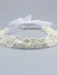 cheap -Unisex Hair Accessories, All Seasons Roman Knit Headbands - White