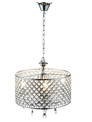cheap -Lightinthebox Chandelier Ambient Light - Crystal, Drum Modern / Contemporary, 110-120V 220-240V Bulb Not Included