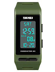cheap -SKMEI Women's Digital Sport Watch Japanese Alarm Chronograph Water Resistant / Water Proof Noctilucent Stopwatch PU Band Casual Fashion