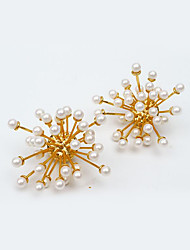 cheap -Women's Pearl Clip Earrings - Gold Plated European, Fashion Gold For Party / Evening / Gift