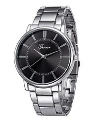 Недорогие -Муж. Нарядные часы Китайский Секундомер / Творчество Нержавеющая сталь Группа Мода Серебристый металл / SSUO LR626