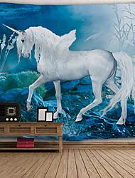 abordables -Architecture Décoration murale Polyester Rétro Art mural, Tapisseries murales Décoration