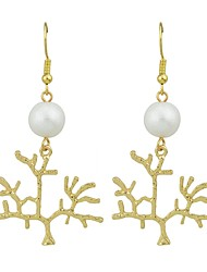 cheap -Women's Drop Earrings - Tree of Life Fashion Gold For Gift / Date