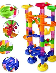 cheap -Marble Run Toy Toys Stress and Anxiety Relief Cylindrical A Grade ABS Plastic 105pcs Pieces Birthday Gift