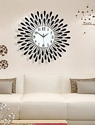 cheap -Modern/Contemporary Iron Rectangular Indoor,AA Wall Clock