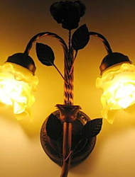 preiswerte -Sichtschutz Modern/Zeitgenössisch Wandlampen Für Schlafzimmer Metall Wandleuchte 220-240V 40W