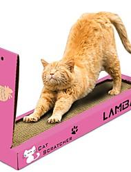 baratos -Gatária Camas Simples Amigo de Animal de Estimação Tapete de Arranhar Sem Parabenos Sem Formol Papel papelão Para Gatos