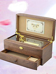cheap -Rich Long Music Box Music Valentine's Day Castle in the Sky Spirited Away Fairy Tale All Gift