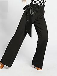 abordables -Danse de Salon Bas Femme Utilisation Spandex Bandeau Taille haute Pantalon
