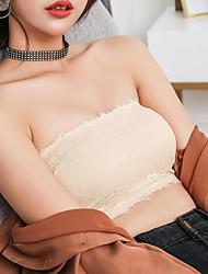 abordables -Aux femmes De Genre Neutre Soutien-gorge Soutien-gorge Sport Soutien-gorge Rembourré Sans couture Grand Maintien - Couleur Pleine Rayé
