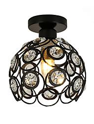 Недорогие -современный хрустальный мини-стиль живопись металлический заподлицо гостиная гостиная спальня светлый светильник
