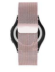 baratos -Pulseiras de Relógio para Gear S2 Samsung Galaxy Pulseira Estilo Milanês Aço Inoxidável Tira de Pulso