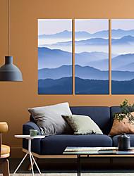 Недорогие -С картинкой Роликовые холсты - Абстракция Пейзаж Modern