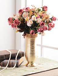 cheap -Artificial Flowers 0 Branch Luxury / European Vase Tabletop Flower / Single Vase