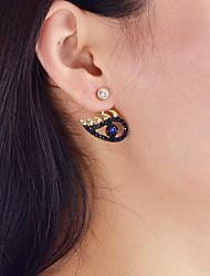 cheap -Women's Mismatch Eyes Drop Earrings - Casual / Mismatch Gold Earrings For Daily / Date