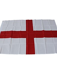 baratos -Decorações de férias Eventos esportivos Copa do Mundo Bandeira Nacional England 1pç