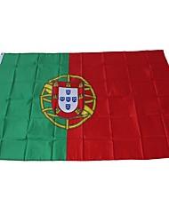 baratos -Decorações de férias Eventos esportivos Copa do Mundo Bandeira Nacional Portugal 1pç