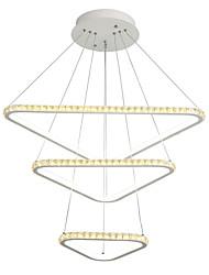 cheap -LightMyself™ Pendant Light Ambient Light - Crystal, 110-120V / 220-240V, Warm White+White, LED Light Source Included / 30-40㎡