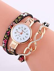 Недорогие -Жен. Часы-браслет Китайский Повседневные часы PU Группа Богемные / Мода Синий / Красный / Зеленый / Один год