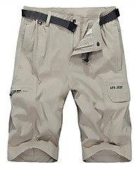 abordables -Homme Shorts de Randonnée Extérieur Séchage rapide Anti-transpiration Respirabilité Cuissard  / Short Bas Activités Extérieures Multisport