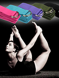 cheap -Exercise Bands/Resistance bands Yoga Straps Yoga Exercise & Fitness Gym Durable Polyester