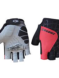 Недорогие -SIDEBIKE Спортивные перчатки Перчатки для велосипедистов Противозаносный Руки На открытом воздухе силикагель Микроволокно Лайкра