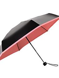 baratos -boy® Tecido Todos Ensolarado e chuvoso / Prova-de-Vento / novo Guarda-Chuva Dobrável