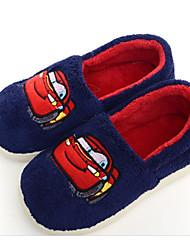 baratos -Para Meninos Sapatos Flocagem Inverno Conforto Chinelos e flip-flops para Casual Azul