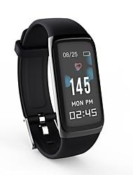 billiga -Smart Klocka BY22S för Android iOS Bluetooth Brända Kalorier Bluetooth Touch Sensor Stegräknare APP Control Puls Tracker Stegräknare Samtalspåminnelse Aktivitetsmonitor / Sleeptracker / Fingersensor