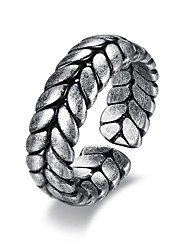 cheap -Men's Open Cuff Ring - Stainless Wings Fashion 6 / 7 / 8 Silver For Date Holiday
