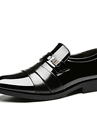 cheap -Men's Shoes PU Spring / Summer Formal Shoes Oxfords Black / Brown