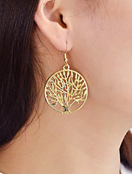 cheap -Drop Earrings - Tree of Life Fashion Gold / Silver For Daily / Date