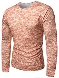 abordables -Hombre Activo Básico Camiseta Bloques