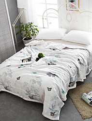cheap -Comfortable - 1pc Bedspread / 1pc Quilt Summer Polyster Floral