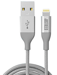cheap -Lightning USB Cable Adapter Quick Charge High Speed Cable For iPhone 200cm Nylon