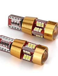Недорогие -2pcs T10 Автомобиль Лампы 2W 55lm 6 Светодиодная лампа Аксессуары For Универсальный Все модели Все года