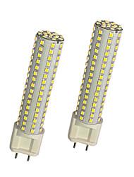 abordables -2pcs 13W 980lm G12 Ampoules Maïs LED T 144 Perles LED SMD 2835 Blanc Chaud Blanc 85-265V