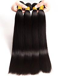 cheap -Brazilian Hair Straight Human Hair Extensions 4 Bundles Human Hair Weaves Extention / Hot Sale Natural Black Human Hair Extensions All