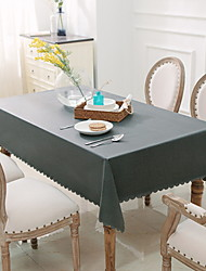 cheap -Contemporary PVC Square Table Linens Solid Colored Table Decorations