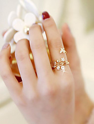 cheap -Cuff Ring - Flower, Butterfly Fashion Adjustable Rose Gold For Wedding / Date