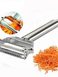baratos -Utensílios de cozinha Inoxidável Multifunções / Gadget de Cozinha Criativa Peeler & Grater Vegetais 1pç